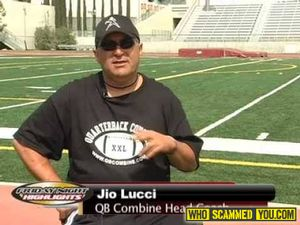 Coach Jio Lucci is on National Child Abuse Register