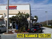 Scam - Dunkin Donuts Covered in BEES!!