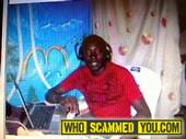 Scam - Scammer from Acra, Ghana